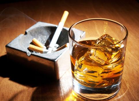 Вредные привычки могут развить патологию