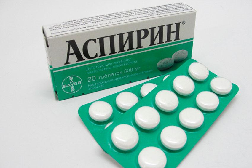 При отсутствия эффекта от нитроглицерина дают разжевать аспирин