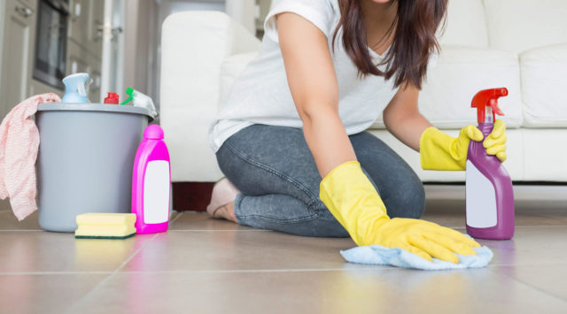 Проводите влажную уборку как можно чаще