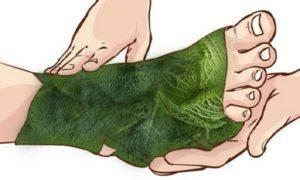 Компрессы помогают уменьшить опухлость тканей