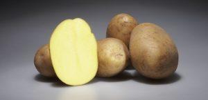Картофель натирают и прикладывают к пострадавшему участку