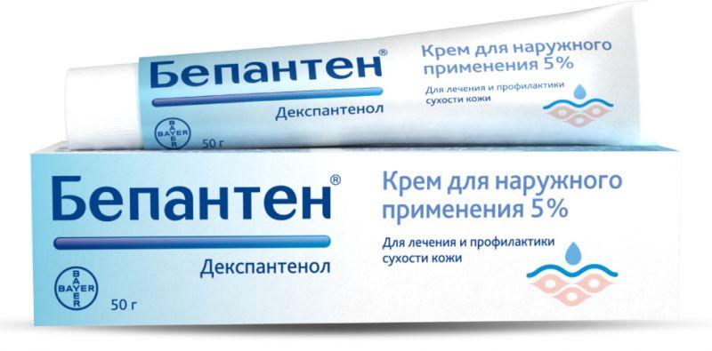 Для ускорения восстановления тканей кожу можно смазывать специальной мазью