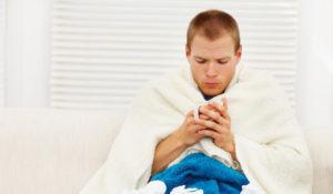 Понижение температуры тела, озноб