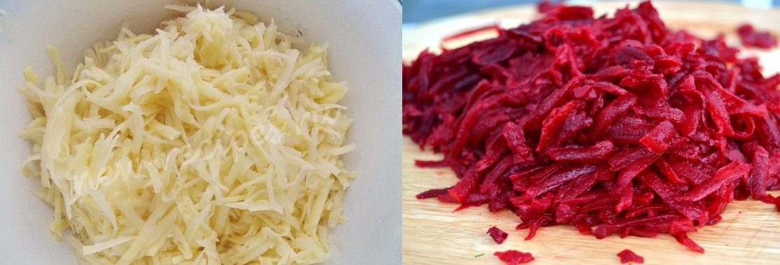 Используйте компресс из тертых картофеля и свеклы