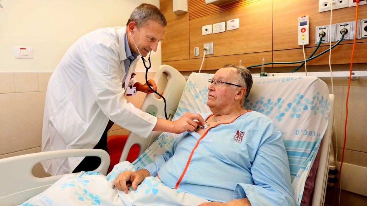 Курс лечения пациент проходит в кардиологическом отделении или центре